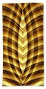 Liquid Gold 3 Beach Towel