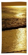 Liquid Gold Beach Towel
