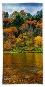Little Beaver Creek Bend Beach Towel