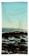 Little Compton Coast Beach Towel