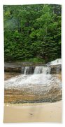 Little Miner Falls Beach Towel