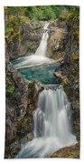 Little Qualicum Falls Beach Towel