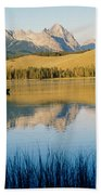 Little Red Fish Lake, Stanley, Idaho Beach Towel
