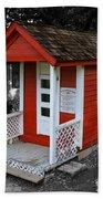 Little Red School House Beach Towel
