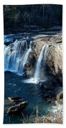 Little River Falls Beach Towel