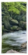 Little River Scenery E226 Beach Towel