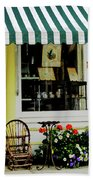 Little Rocking Chair By Antique Store Beach Towel
