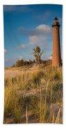 Little Sable Light Michigan Beach Towel