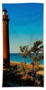 Little Sable Point Beach Towel