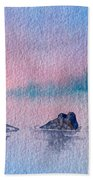 Little Trees Beach Towel