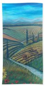 Little Tuscany Beach Towel