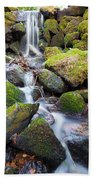 Little Waterfall In Marlay Park Beach Towel