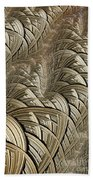 Litz Wire Abstract Beach Towel