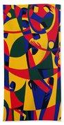 Live Adventurously Beach Towel by Ron Waddams