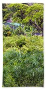 Living Off The Grid In The Waipi'o Valley Beach Towel