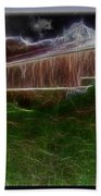 Livingston Manor Covered Bridge - Featured In Comfortable Art Group Beach Towel