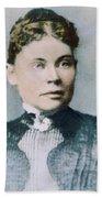 Lizzie Andrew Borden (1860-1927) Beach Sheet
