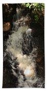 Llangollen And Maelor Country Waterfalls Beach Towel