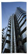 Lloyd's Building. Beach Towel