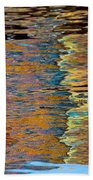 Lobster Trap Reflections Beach Towel