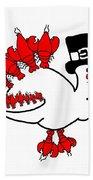 Lobster Turkey Beach Towel