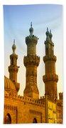 Local Cairo Mosque 05 Beach Towel