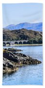 Loch Nan Uamh Viaduct 2 Beach Towel