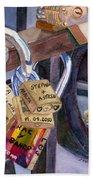 Locks Of Luck Beach Sheet