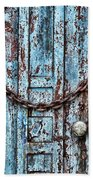 Locked And Chained Beach Towel