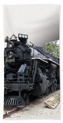 Locomotive 639 Type 2 8 2 Out Of Bounds Beach Towel