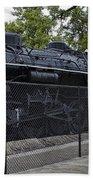 Locomotive 639 Type 2 8 2 Side View Beach Towel