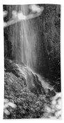 Loja Waterfall Mono Beach Towel