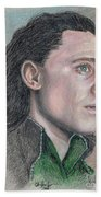 Loki From The Avengers Beach Towel
