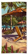 Lola's In Costa Rica Beach Towel