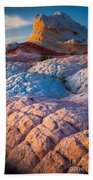 Lollipop Sunset Beach Towel by Inge Johnsson