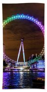 London Eye Pride Beach Towel