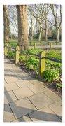 London Park Beach Towel by Tom Gowanlock