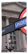 London Underground 1 Beach Towel