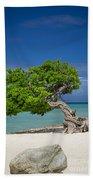 Lone Tree - Aruba Beach Towel