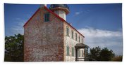 Lonely East Point Lighthouse Beach Towel