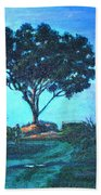Lonely Giant Tree Beach Towel