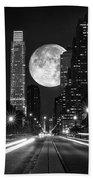 Long Nights Moon Beach Towel