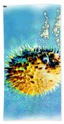 Long-spine Fish Beach Towel