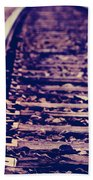 Long Tracks Beach Towel