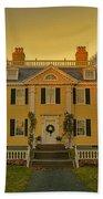 Longfellow House-cambridge Boston Beach Towel