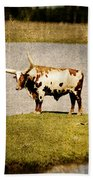 Longhorn Beach Towel