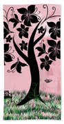 Longing For Spring Beach Towel