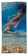 Longing From The Depths Beach Towel by Dorina  Costras