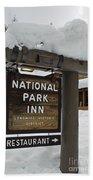 Longmire National Park Inn Beach Towel