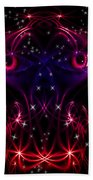 Look Into My Eyes Beach Towel by Nathan Wright